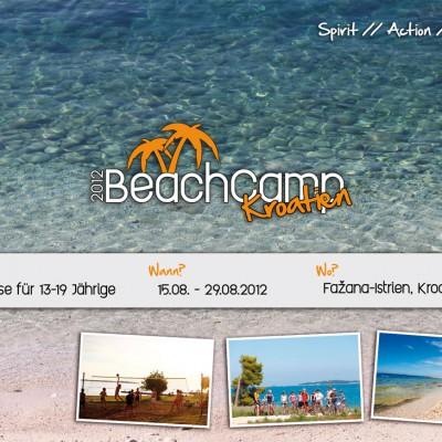 Beachcamp Kroatien